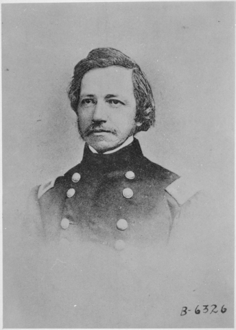General Amiel Whipple, explorer died in the Civil War